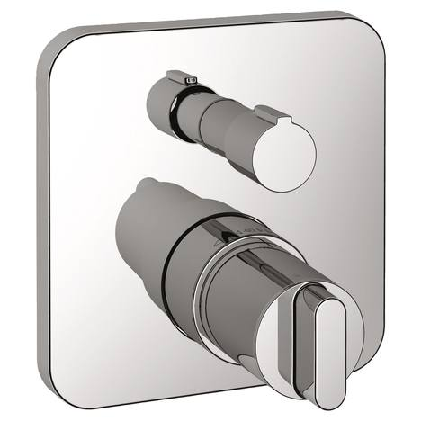 Ideal Standard Moments - sprchová termostatická podomítková baterie, vrchní sada A4718AA