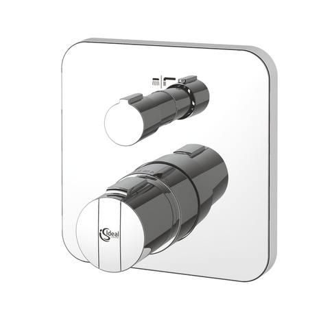 Ideal Standard CeraTherm 200 - sprchová termostatická podomítková baterie, vrchní sada A4662AA