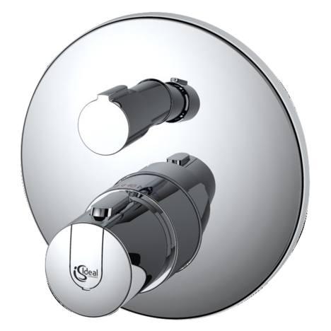 Ideal Standard CeraTherm 100 - sprchová termostatická podomítková baterie, vrchní sada A4659AA