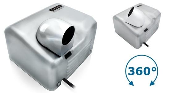 Cata Empire Ariel sF 2400 W Automatic - osoušeč rukou s infrasnímačem, matný nerez celokovový 9818
