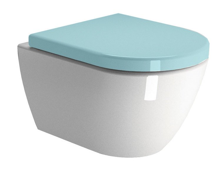 Sapho Pura - WC mísa závěsná 36x50cm, bez sedátka 881811