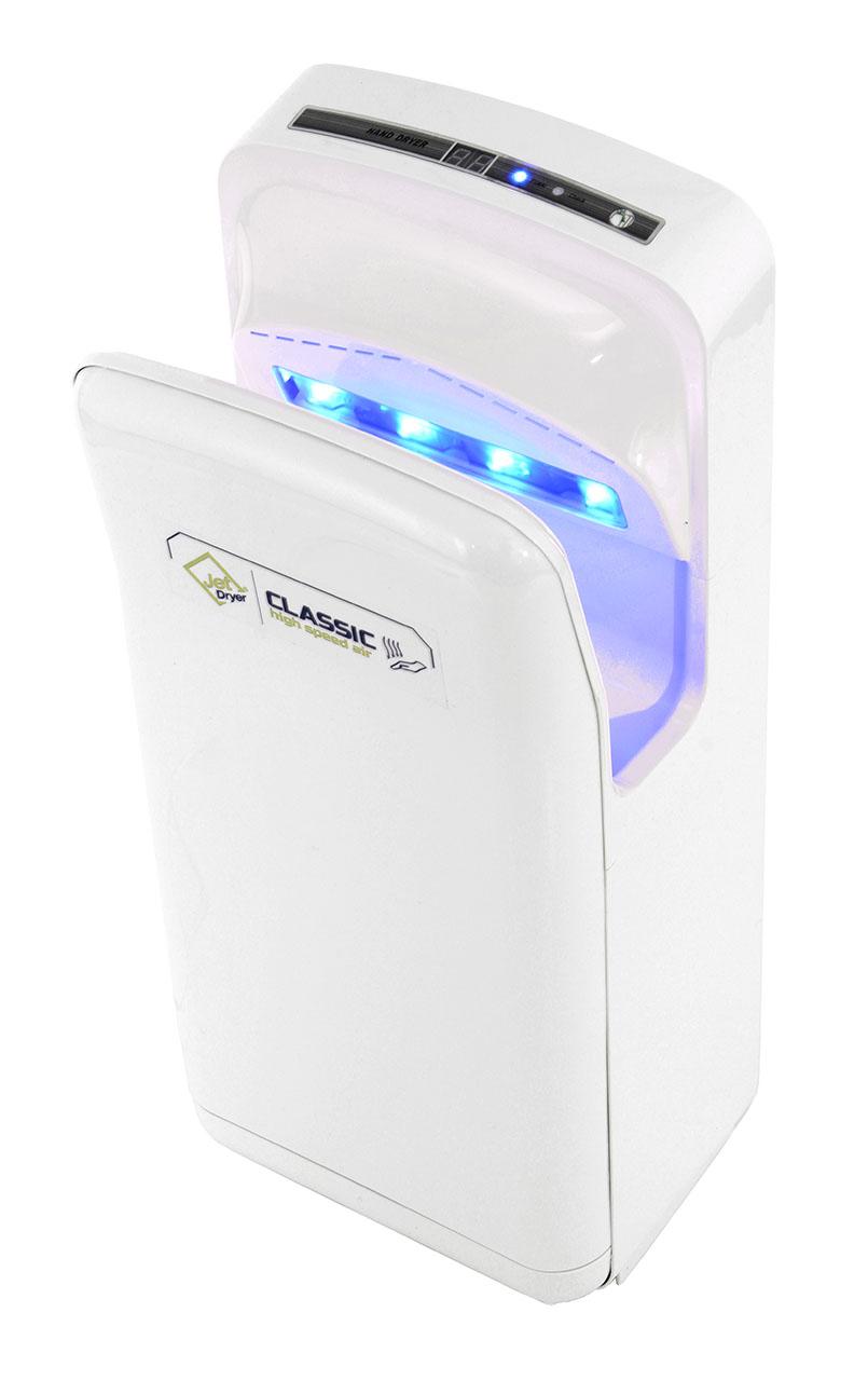 Welt servis Jet Dryer Classic - tryskový vysoušeč rukou bílý Jet Dryer bílý