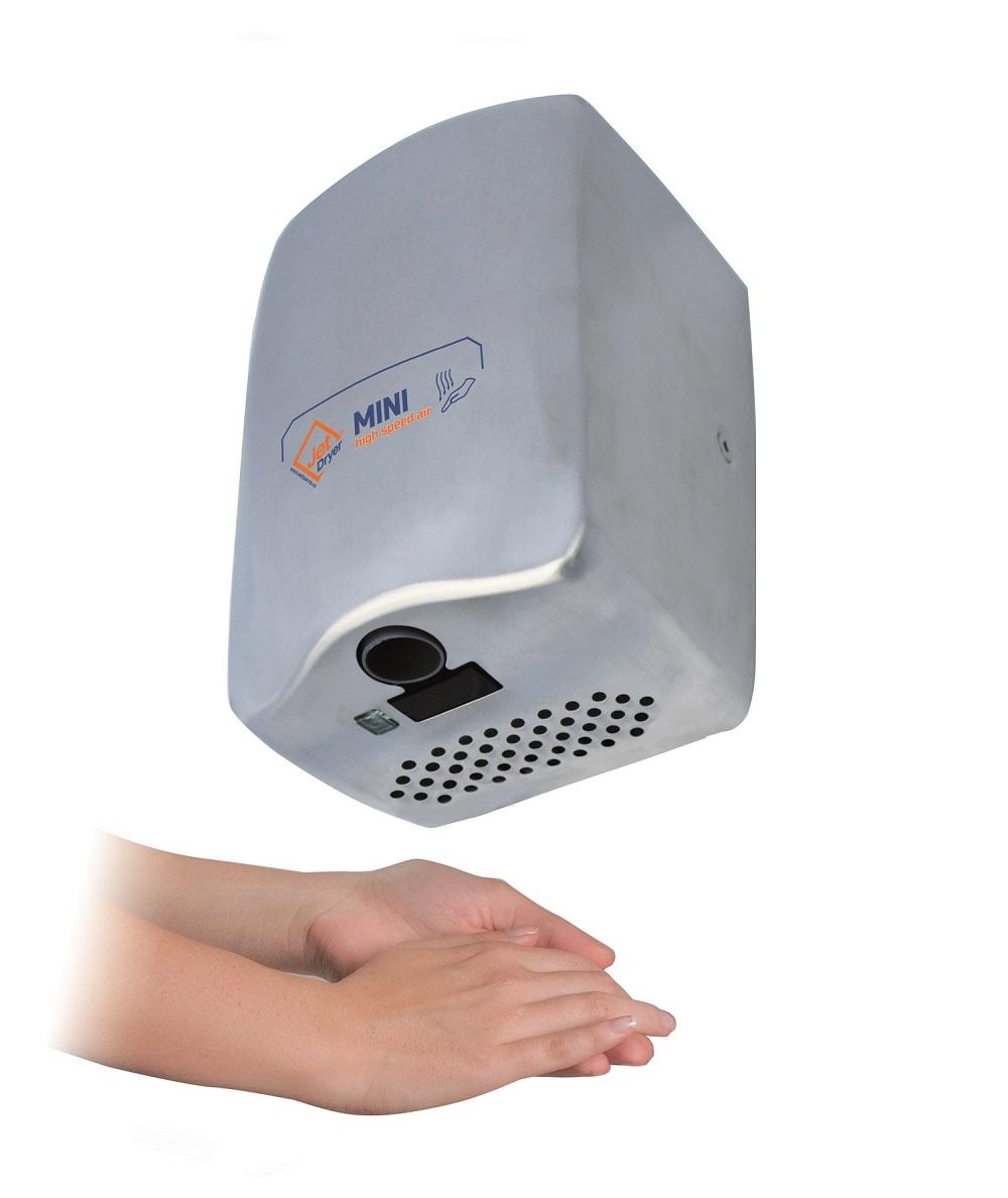 Welt servis Jet Dryer Mini - tryskový vysoušeč rukou stříbrný Jet Dryer Mini