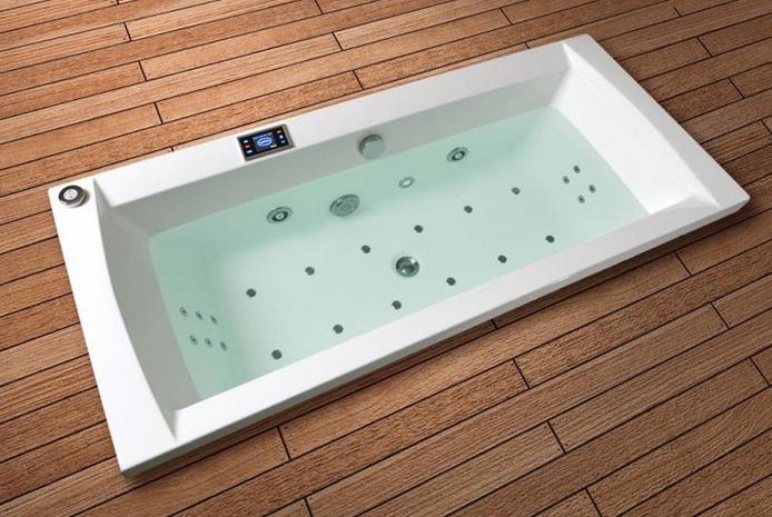 Santech Masážní systém Comfort - hydromasáž, turbomasáž, relaxační masáž, perličková koupel, shia-tsu masáž Comfort