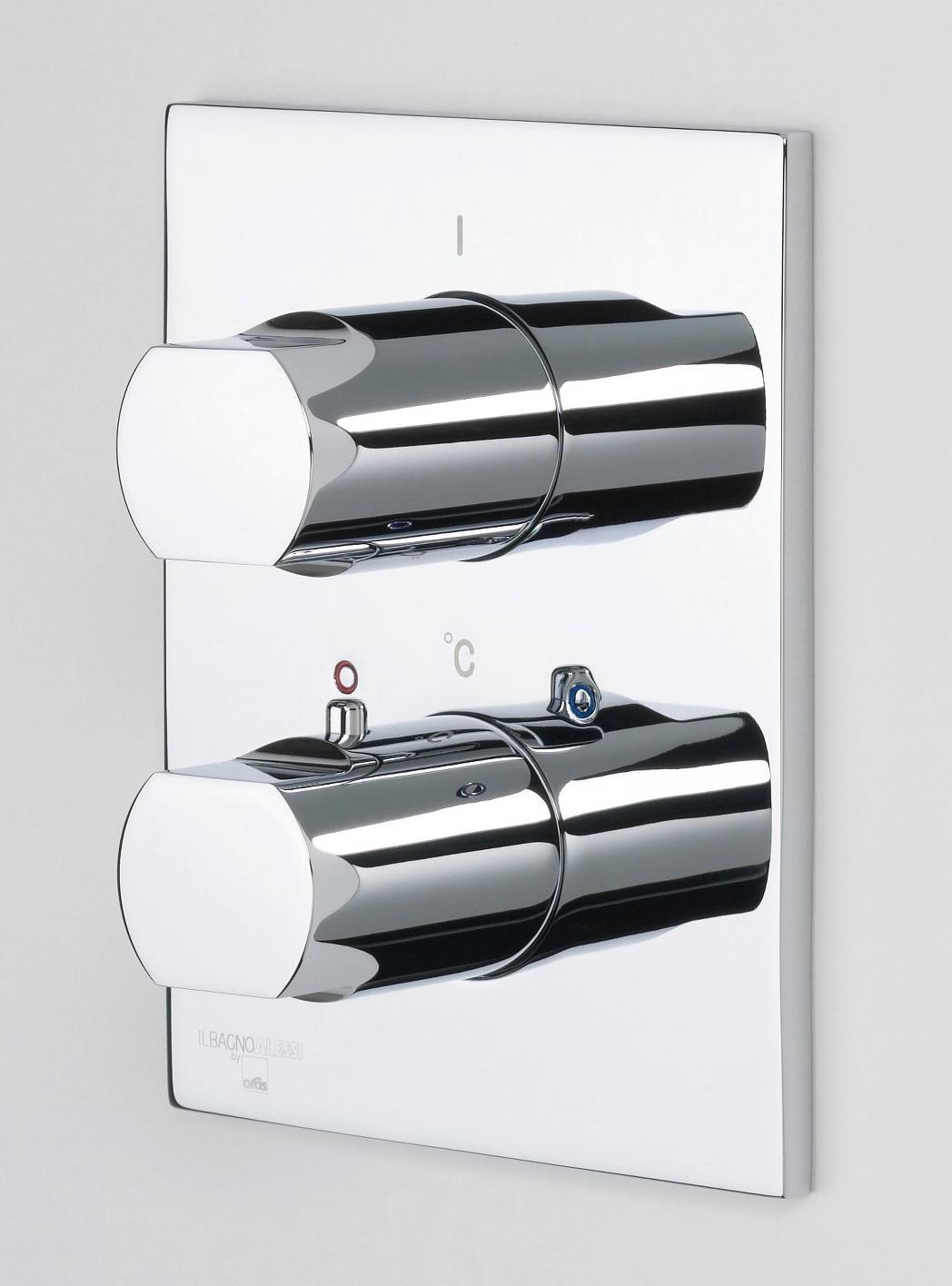Oras Alessi One - sprchová termostatická podomítková baterie, nadomítková část 8577