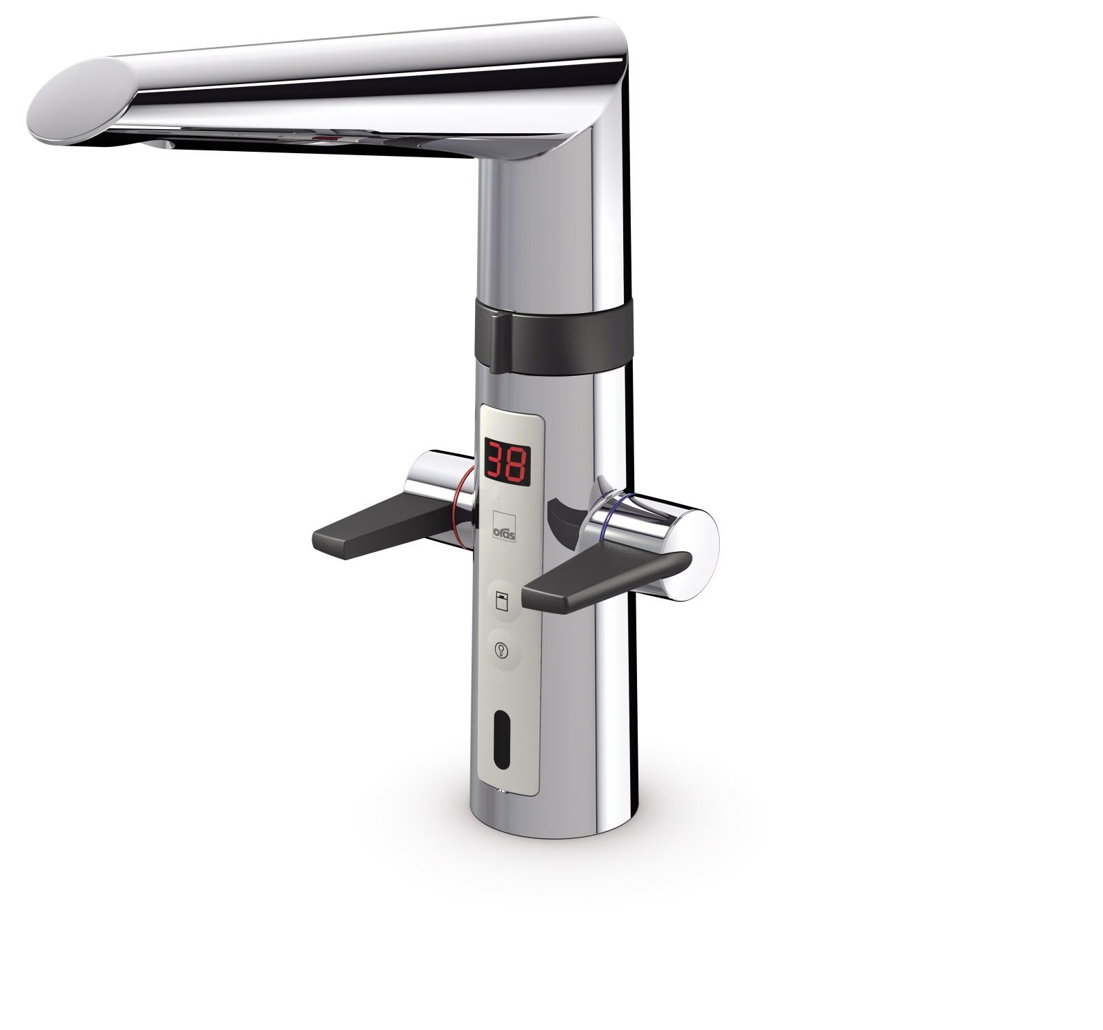 Oras Optima - kuchyňská páková baterie, 230 V, smart ventil na myčku 2727F