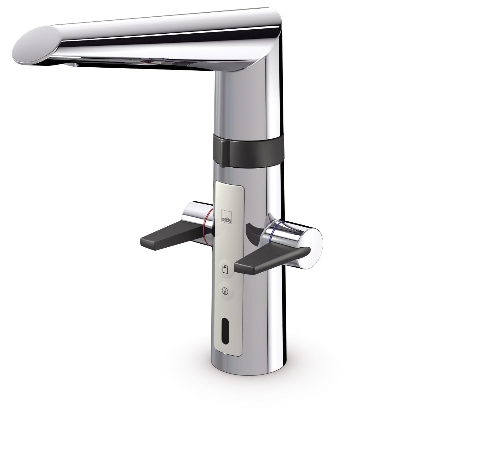 Oras Optima - kuchyňská páková baterie, 3 V, smart ventil na myčku 2725F