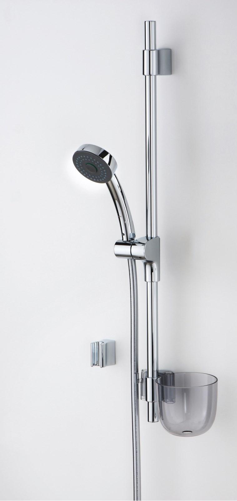 Natura: sprchová souprava, chrom