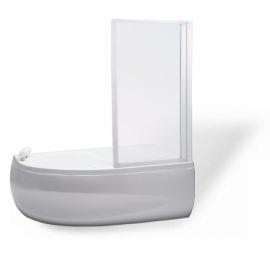 VZKR 1/80 - vanová zástěna jednodílná 80x135 cm, plast pearl