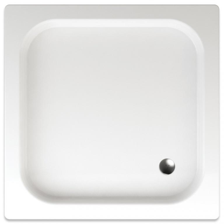 Teiko Kea - sprchová vanička čtvercová 90 x 90 x 8 cm akrylátová Kea 90x90