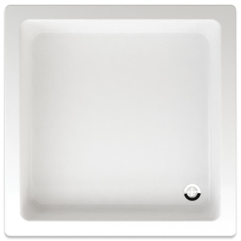 Teiko Libra - sprchová vanička čtvercová 90 x 90 x 15 cm akrylátová Libra 90x90
