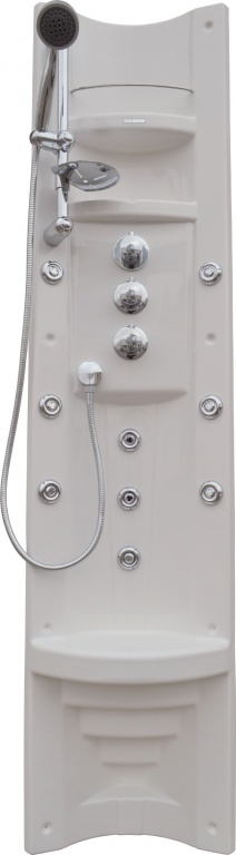 Teiko Pamo - sprchový panel s pákovou baterií Pamo