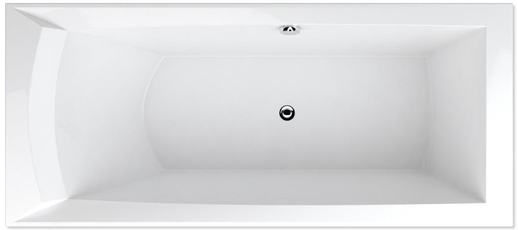 Teiko Porta 170x76 P/L - masážní systém Easy STL (vodní masáž) EASY STL - Porta 170 P/L