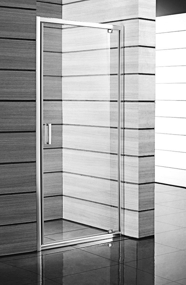 Jika Lyra Plus - sprchové dveře jednokřídlé 90 cm, sklo čiré H2543820006681