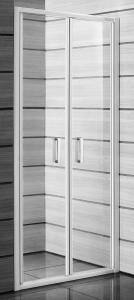 Jika Lyra Plus - sprchové dveře lítací 90 cm, sklo stripy H2563820006651