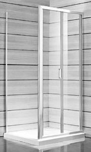 Jika Lyra Plus - sprchové dveře skládací 90 cm, sklo stripy H2553820006651