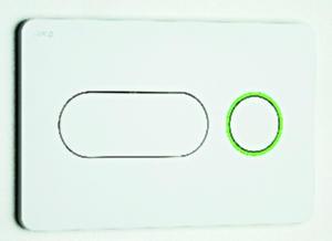 Jika PL8 Dual Flush - tlačítko dual-flush, chrom matný H8936460070001