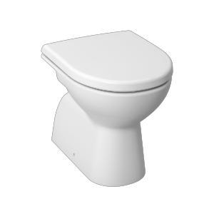 Jika Lyra Plus - samostatně stojící klozet, hluboké splachování, svislý odpad, bez sedátka H8213870000001