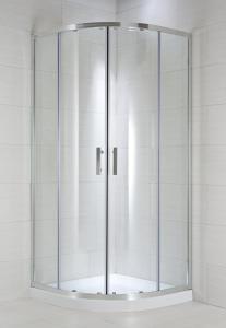 Jika Cubito Pure - sprchový kout čtvrtkruhový čtyřdílný 80 cm, sklo Arctic H2532410026661