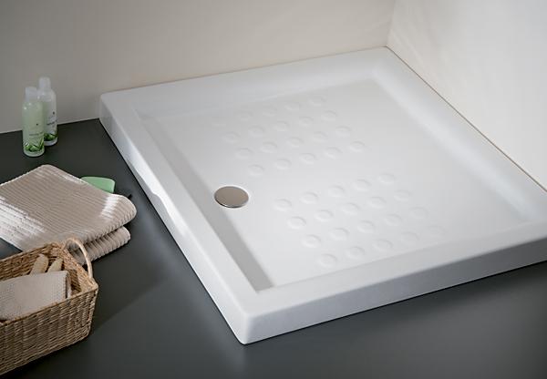 Jika Neo-Ravenna - vanička keramická čtvercová 90x90 cm, výška 8 cm H2120900000201