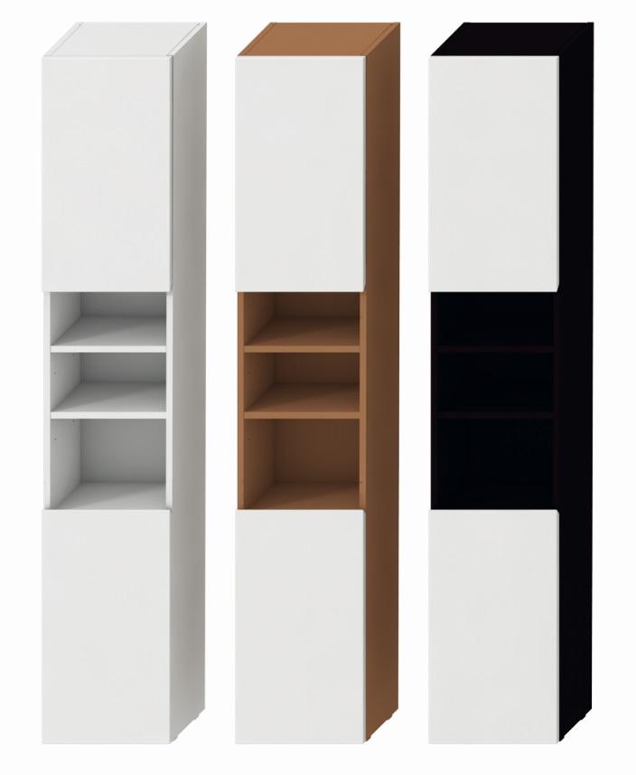 Jika Lyra - skříňka vysoká, pravá, bílá H4531620383001