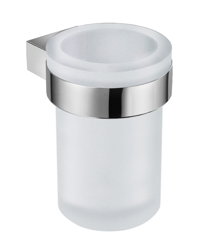 Pure - držák se skleněným pohárkem