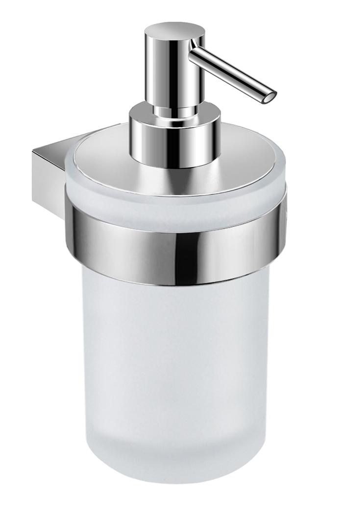 Pure - držák se skleněným dávkovačem tekutého mýdla