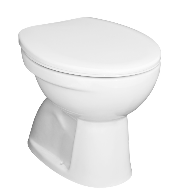 Jika Zeta plus - samostatně stojící WC, hluboké splachování, svislý odpad, bez sedátka H8217460000001
