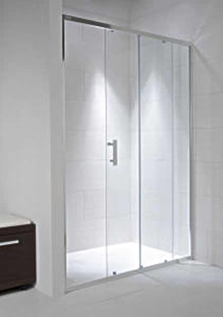 Jika Cubito Pure - sprchové dveře posuvné 140 cm, sklo čiré H2422480026681