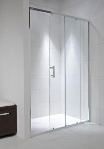 Jika Cubito Pure - sprchové dveře posuvné 120 cm, sklo čiré H2422440026681