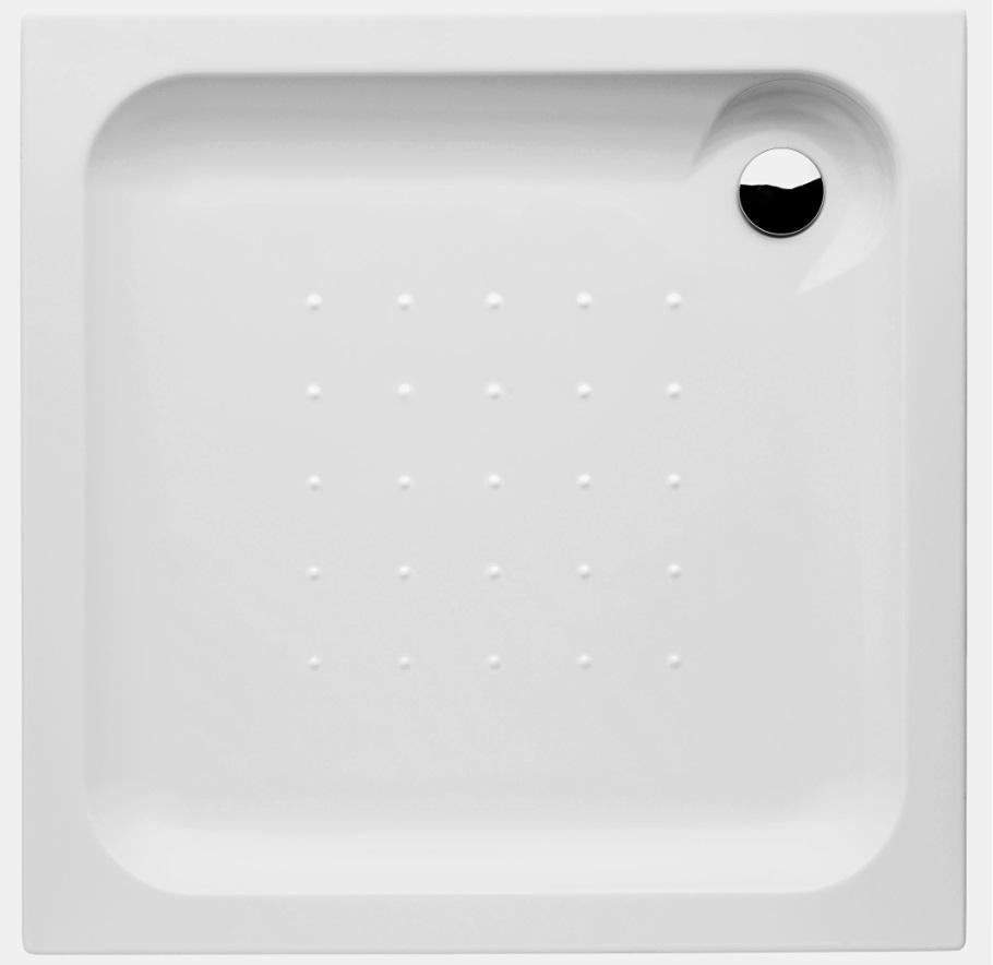 Jika Olymp - sprchová vanička čtvercová, samonosný rám, 90x90 cm H2118220000001