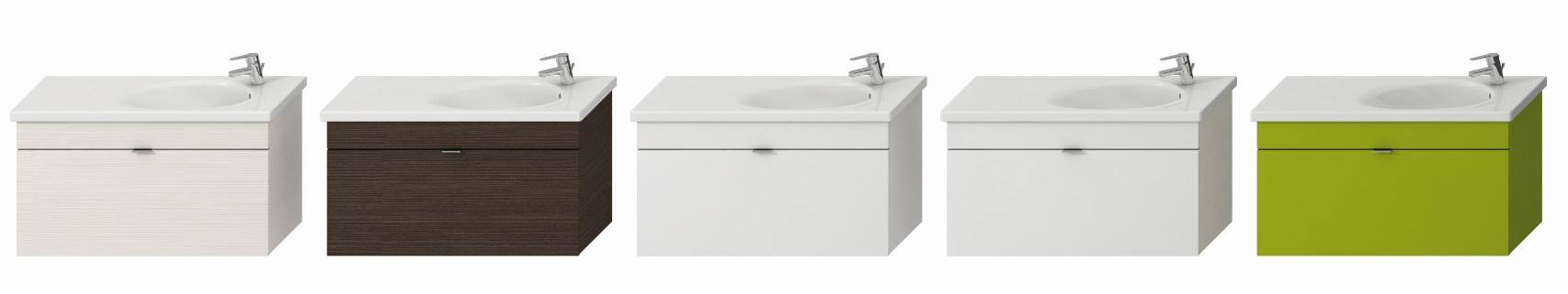 Tigo - skříňka s umyvadlem 100 cm, baterie vpravo, bílá