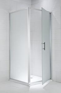 Jika Cubito Pure - boční stěna 90 cm, sklo čiré H2972420026681