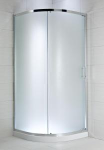 Jika Cubito Pure - sprchový kout čtvrtkruhový dvoudílný 100 cm, sklo čiré H2502430026681