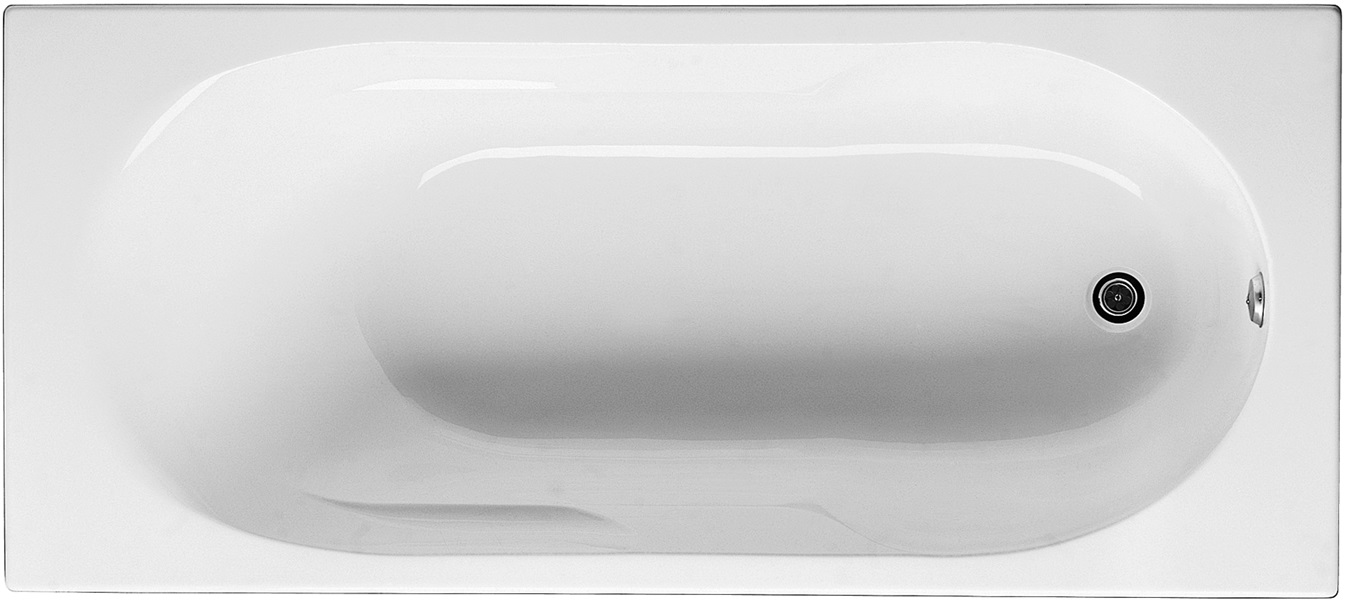Jika Lyra - vana obdélníková 160x70 cm H2308390000001