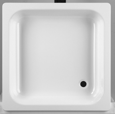 Jika Sofia - vanička ocelová čtvercová 80x80 cm, protiskluz H2140800000111