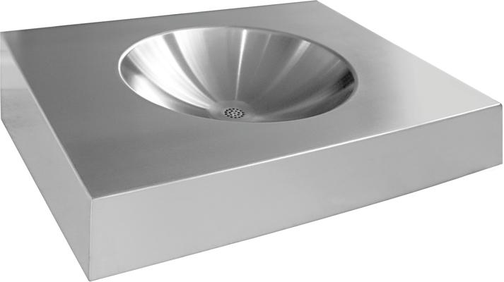 Franke: sanita Heavy-duty - umyvadlo 50x42,5 HDTX455