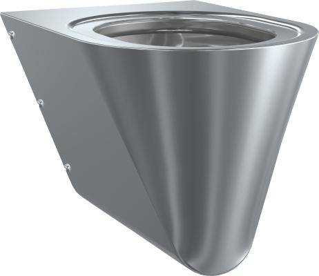 Franke: sanita Campus - WC závěsné, černé sedátko CMPX592B