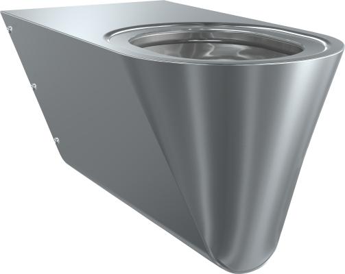 Franke: sanita Campus - invalidní WC závěsné, půlené sedátko CMPX594S
