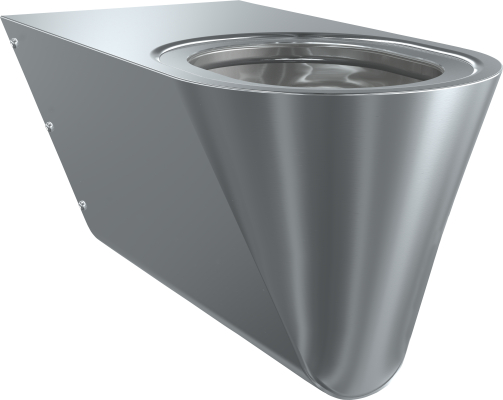 Franke: sanita Campus - invalidní WC závěsné, šedé sedátko CMPX594G