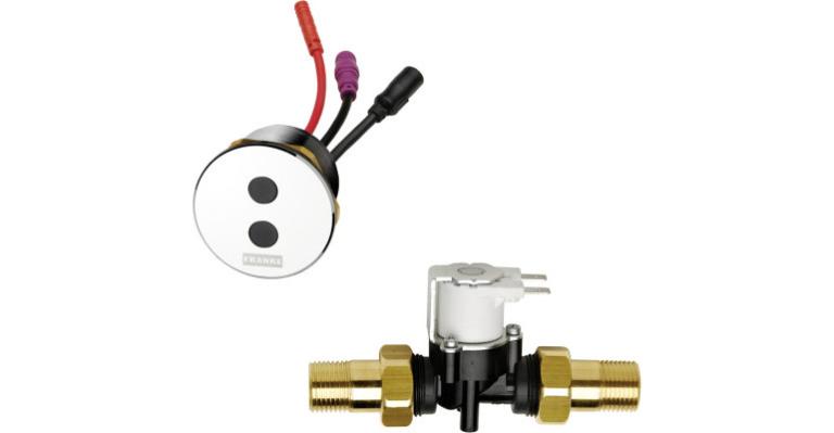 Franke: sanita Aqua - splachovací ventil pro pisoár AQUA402