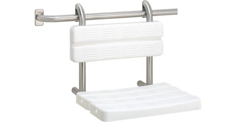 Franke: sanita Contina - sedátko do sprchy závěsné CNTX400B