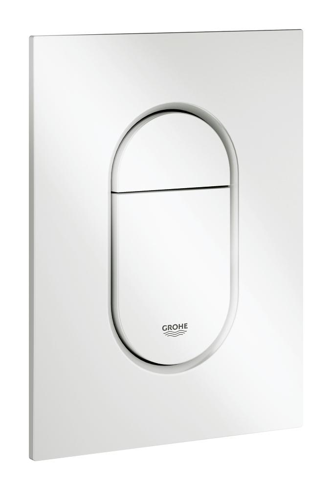 Arena Cosmopolitan S - ovládací tlačítko, dvojčinné, EcoJoy, bílá