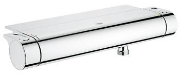 Grohe Grohtherm 2000 New - termostatická sprchová nástěnná baterie, polička 34469001