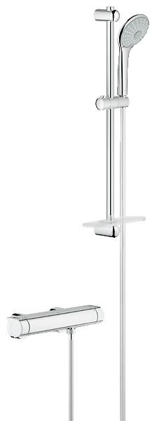 Grohe Grohtherm 2000 New set - termostatická sprchová baterie+sprcha Euphoria 34195001