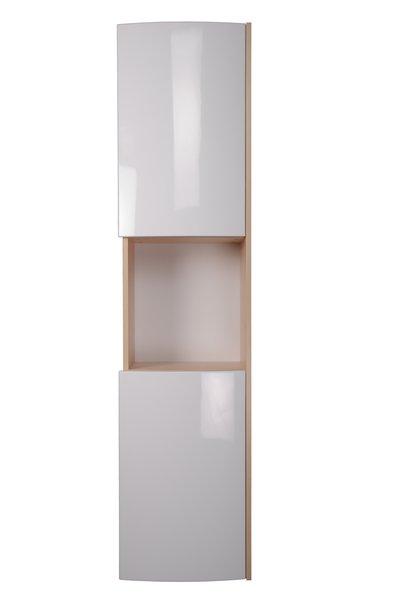 Ravak Rosa - skříňka boční 41x180, bílá/bílá X000000338