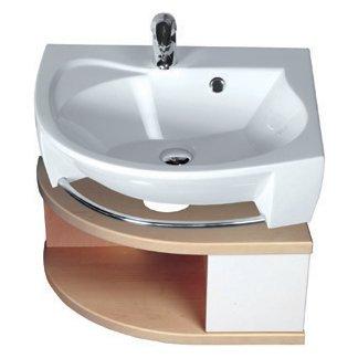 Ravak Rosa - skříňka pod umyvadlo 56x40 bílá/bílá X000000326/X000000327