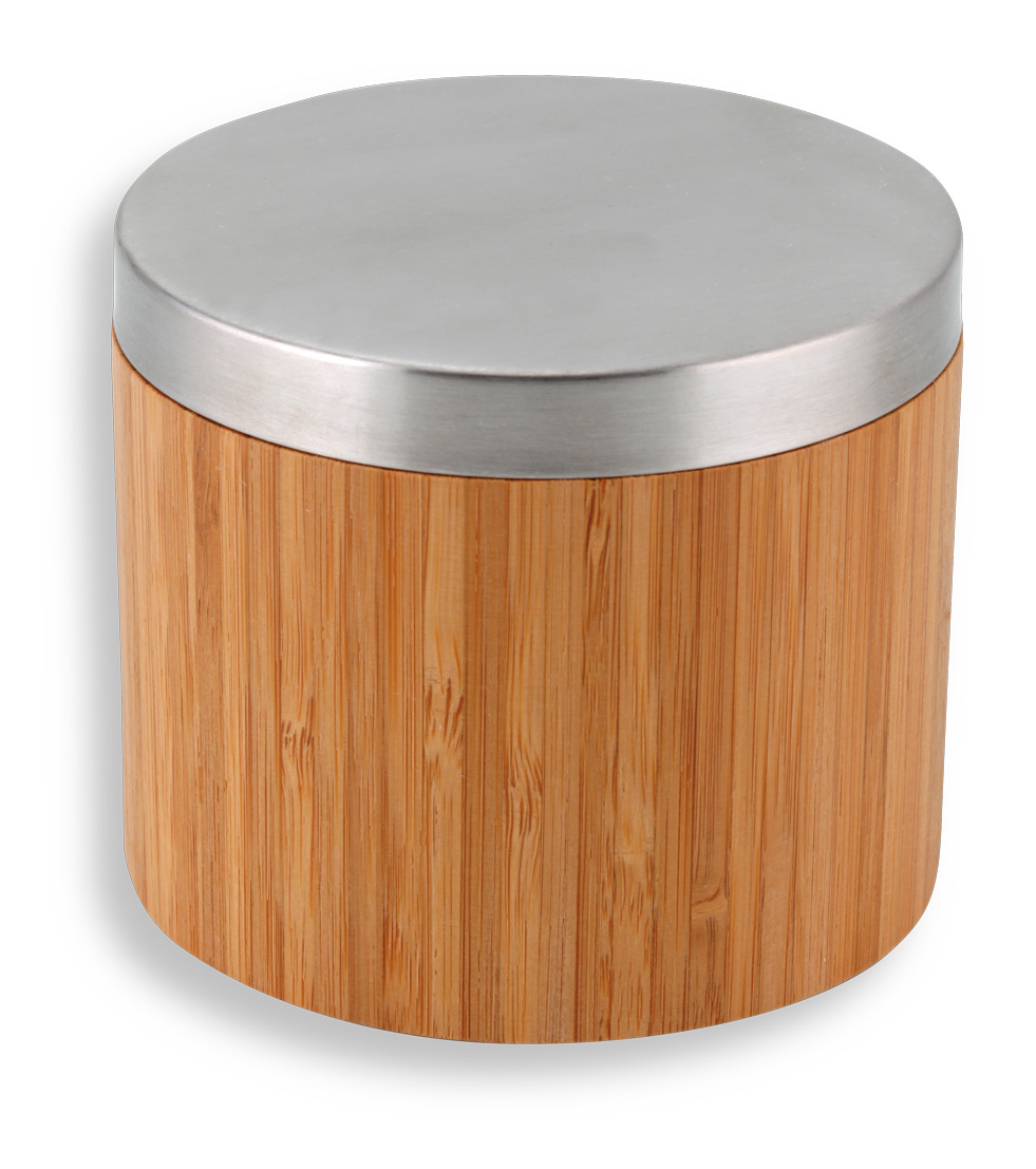 Novaservis Dóza na kosmetické tampony Bambus chrom-bambus 66222,6