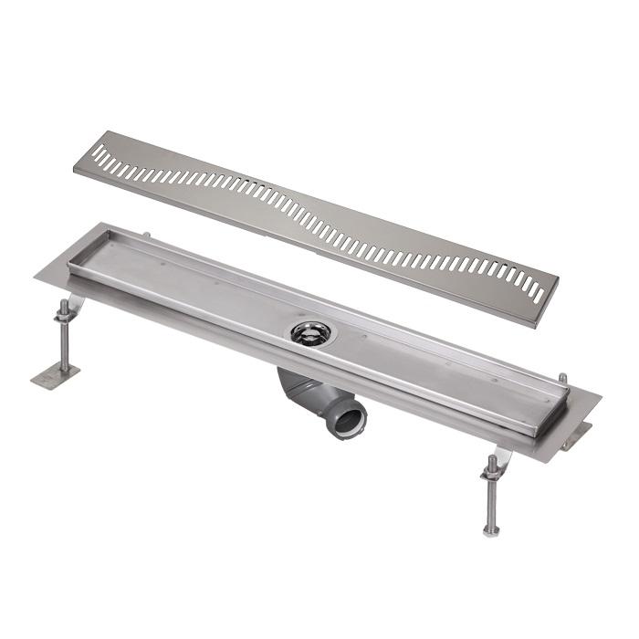 Sanela SLKN 05A - Nerezový koupelnový žlábek, délka 1200 mm, vzor A 69051