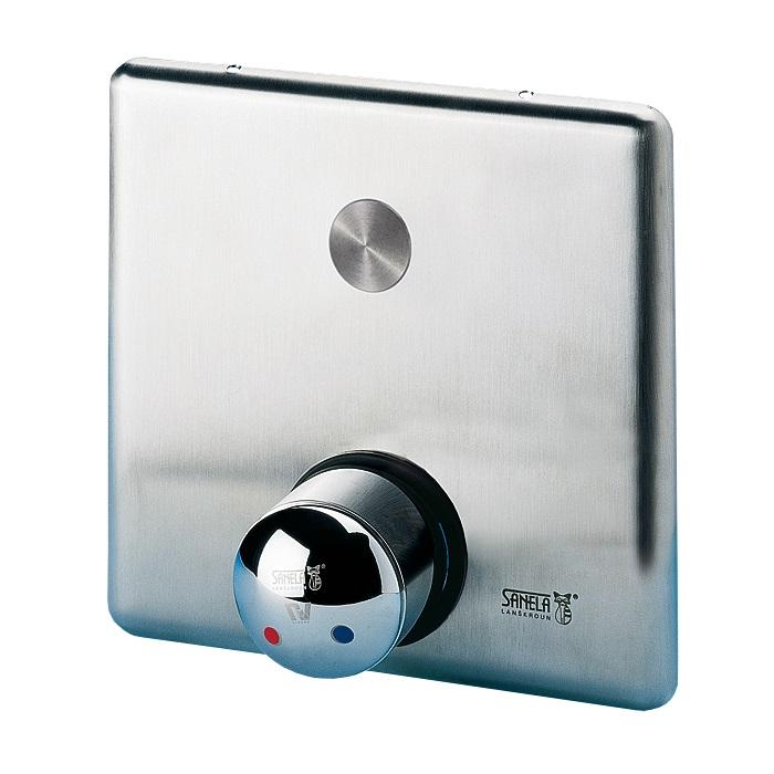 Sanela SLS 02PB - Piezo ovládání sprchy se směšovací baterií pro teplou a studenou vodu, bateriové napájení 12023